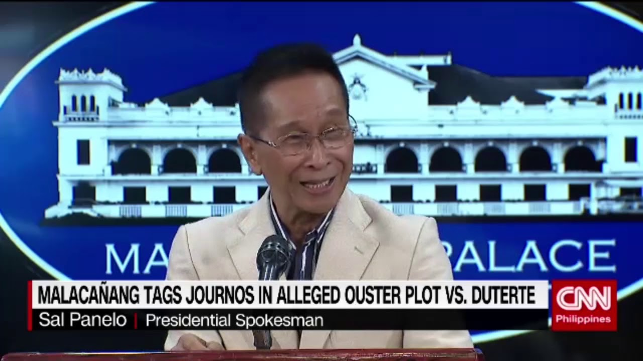 Malacañang tags journos in alleged ouster plot vs. Duterte