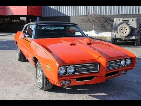 1969 Pontiac Gto Convertible For Sale Youtube