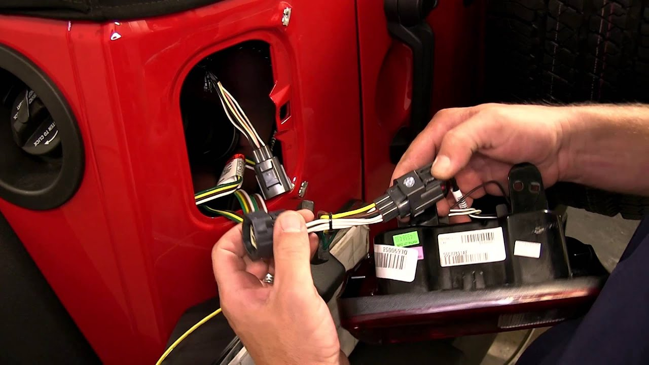 installation of the roadmaster tow bar wiring kit on a 2013 jeep rh youtube com