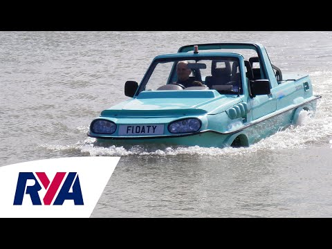Amphibious Car Boat Tour  Driving on land and sea  with Tim Dutton