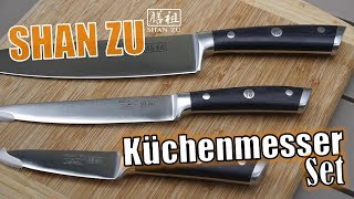 SHAN ZU Küchenmesser Set - Test - Hands-On