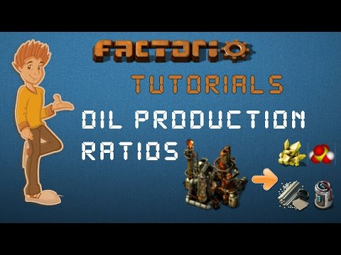 Oil Production Ratios - Factorio Tutorial
