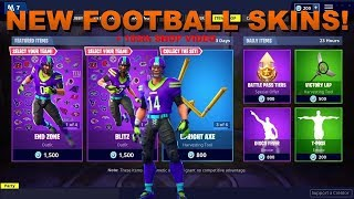 Fortnite Item Shop [November 9th] NEW FOOTBALL SKINS COME OUT! + 100TH ITEM SHOP VIDEO!