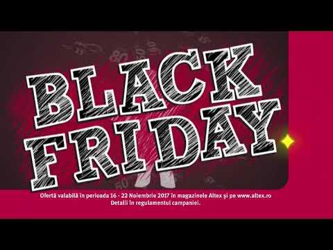 Reclamă ALTEX - BLACK FRIDAY 2017 - noiembrie