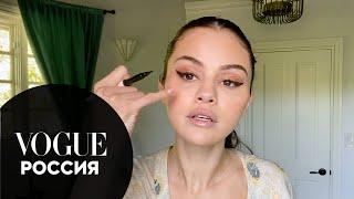 Селена Гомес о борьбе с акне психическом здоровье и макияже глаз Vogue Россия