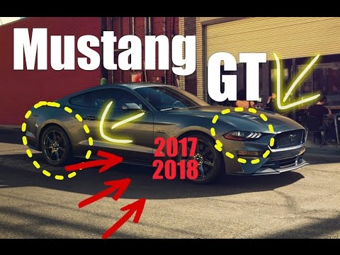 neuer ford mustang gt facelift 2017 2018 premiere deutsch. Black Bedroom Furniture Sets. Home Design Ideas