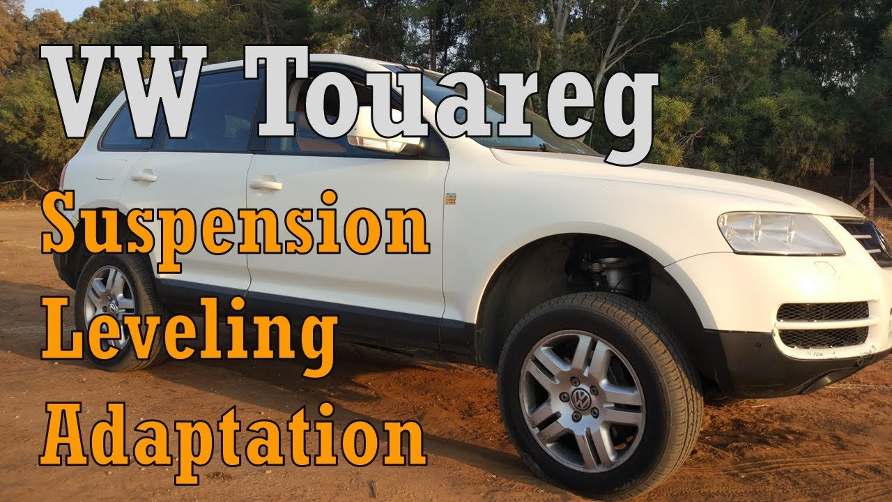 VW Touareg How to adjust Air Suspension Level Calibration Adaptation