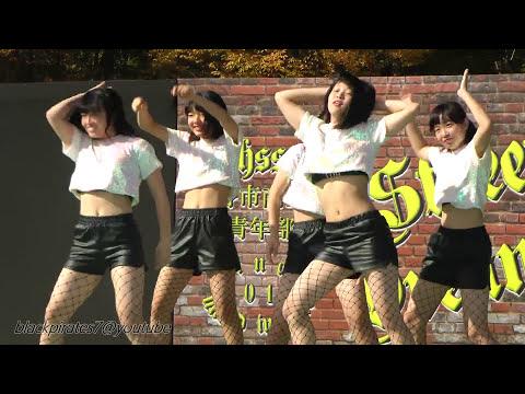 網タイツ女子高生のセクシーダンス☆  JK DANCE Stage.01