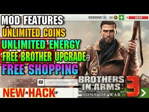 🔥Brothers In Arms 3 MOD APK 1.4.7c Unlimited Money, Vip, And Mod Apk Crash Fix