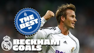 Beckham Best goals at Real Madrid