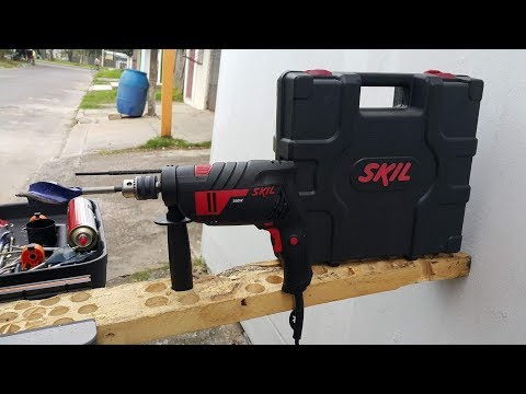 Furadeira De Impacto Skil 6554 (550Watts) - Teste De Uso