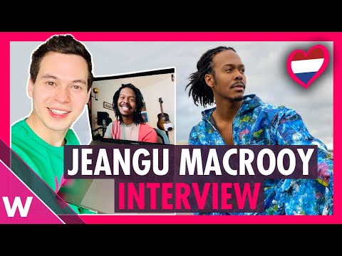"Jeangu Macrooy (Eurovision 2020) Interview on ""Grow"" and ESC 2021 in The Netherlands"