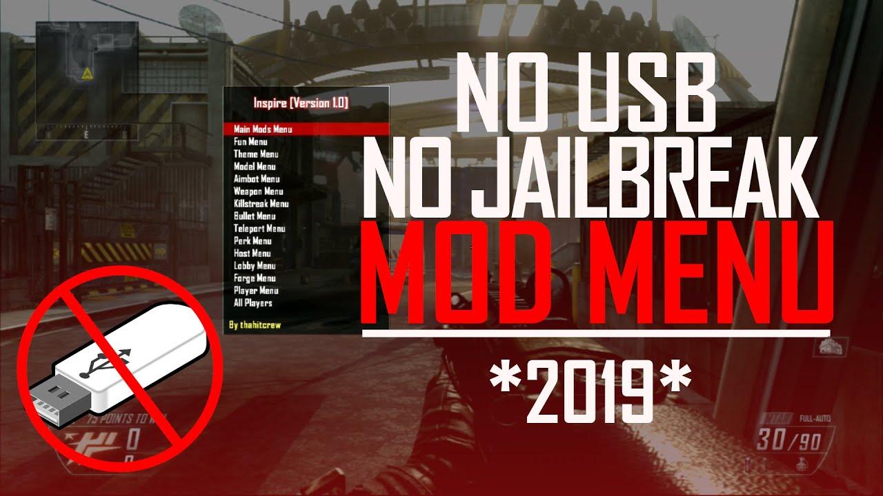 How To Get Mod Menu NO USB NO Jailbreak For Black Ops 2 -Xbox 1 - Xbox360 -  PS4 - PS3 *2019*