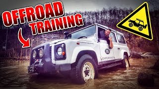 OFFROAD TRAINING Land Rover Defender | Fritz Meinecke