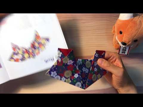 ASMR Japanese Amazing Origami LUNA MOTH ,no talking