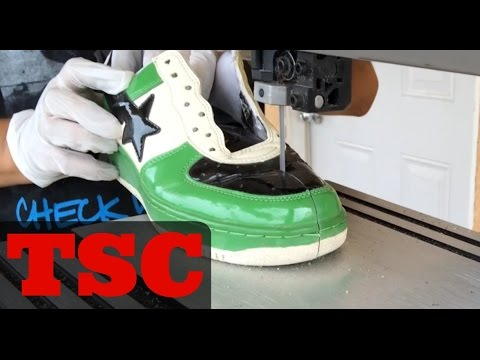 The Sneaker Chop Bape Shoes
