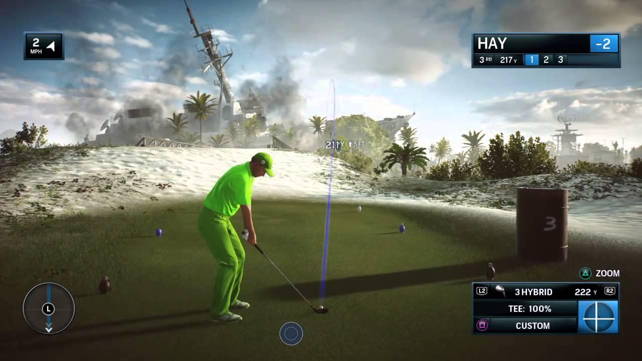games golf course battlefield