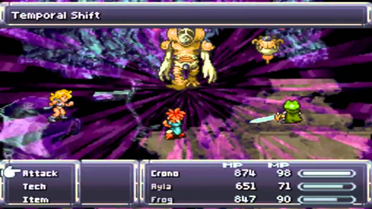 Chrono Trigger (NDS): [FINAL] Boss [P2/2] Lavos (Body / Core Form ...