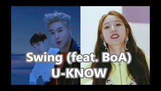 [윤호FANMADE]ユノ☆ボア  SWING feat. BoA 日本語歌詞 U-KNOW YUNHO 유노윤호