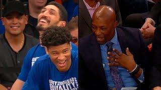 Knicks' assistant coach trolls Enes Kanter   Grizzlies vs Knicks