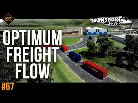 Finding optimum flow of freight | Transport Fever The Alps #67