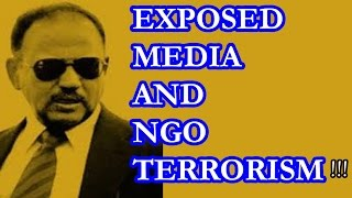 Ajit Doval EXPOSED MEDIA and NGO, Real enemies of Hindustan !!!!