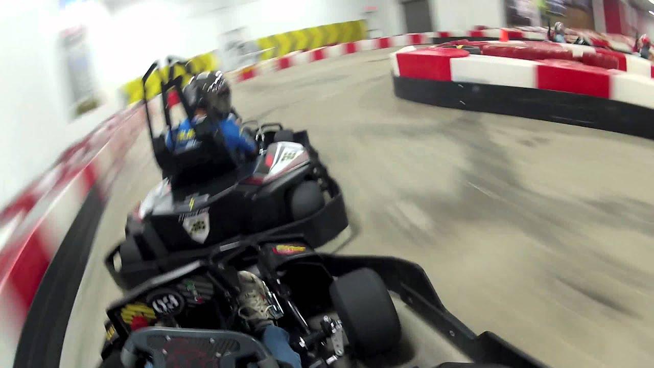 Go Kart Racing Houston >> K1 Speed Racing School - Houston Final Race - YouTube