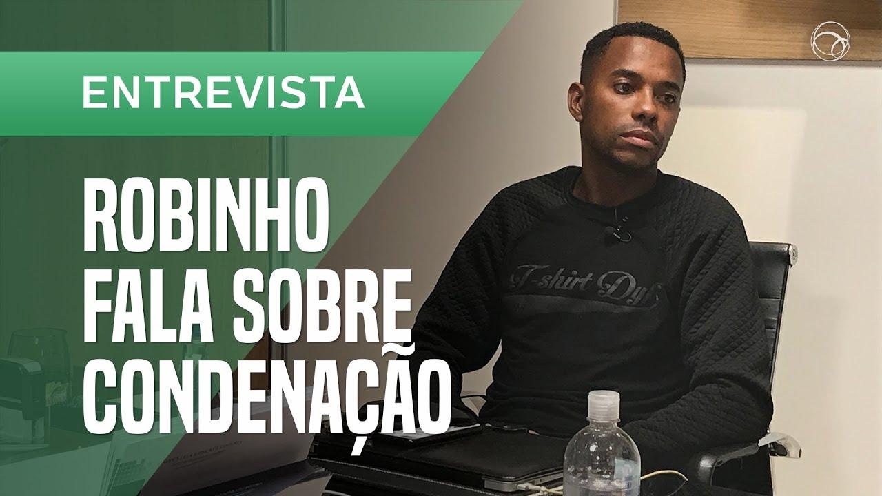 """Robinho fala: """"Meu crime foi trair minha esposa"""""""