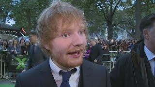 Justin Bieber rocks up at Ed Sheeran
