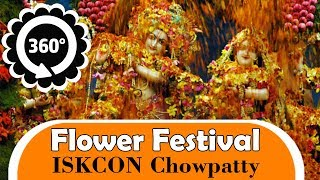 360 VR - Flower Festival - ISKCON Chowpatty - Pushya Abhishek 360 VR Videos 360 4K