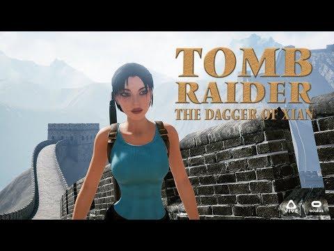 Tomb Raider 2 Remake en Realidad Virtual - Tomb Raider: The Dagger Of Xian - Oculus Rift VR GamePlay