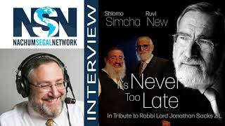 """Interview with Nachum Segal and Ruvi New - Brand new song """"It's Never Too Late"""""""