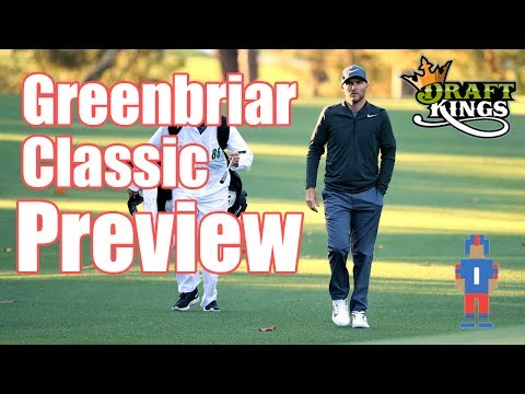 Greenbriar Classic Preview & Picks - DraftKings