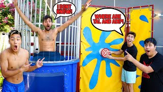 Dunk Tank Trivia Game *DON'T Get DUNKED Challenge*