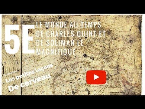 Le monde au temps de Charles Quint et de Soliman le Magnifique