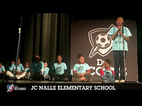 JC Nalle Elementary School performs at the 2018 Eastside Poetry Slam