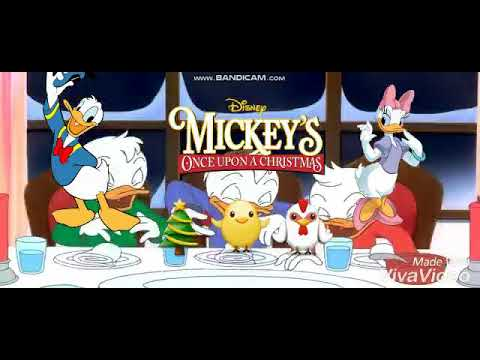 Mickey's Once Upon a Christmas MOVIE CLIP - A Turkey Chase / The Dinner Scene (1999) HD