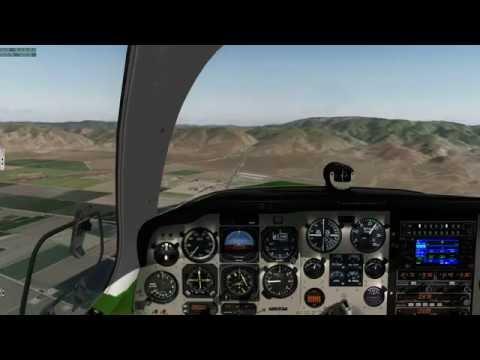 PilotEdge: VFR ~ KBFL - (KBUR) - KTRM ~ F33A w/ REP ~ ALWAYS check your Oil during Preflight!!!
