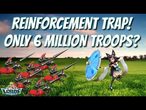 Does He Have Enough Troops To Trap? - Lords Mobile