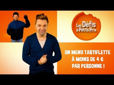 Menu Tartiflette à moins de 4 € - Défis à Petits Prix