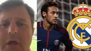 El periodista que desveló la marcha de Neymar al PSG dice ahora que irá al Real Madrid ◉ 2018