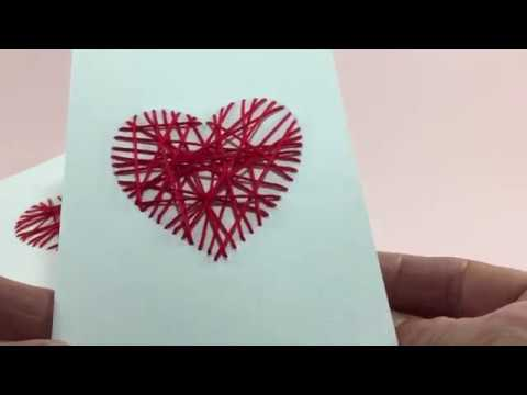 Biglietti di san valentino fai da te si realizzano con for Idee san valentino fai da te