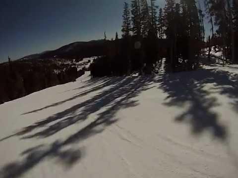 Fred, Eldora, Nederland, CO, Skiing GoPro