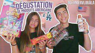 DEGUSTATION DE PRODUITS AMERICAINS À LA! w/ Ma soeur