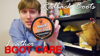 Quick & Easy Leather Boot Care | Redback Boot Wax