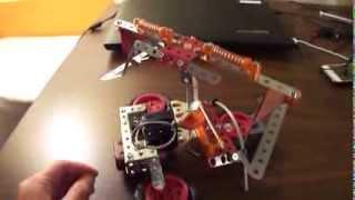 Erector Set Spinning Ride Model