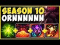 WHY ARE S10 TANKS ABLE TO BEAT ANY TOP LANER?? KING TANK ORNN IS 100% UNFAIR! - League of Legends
