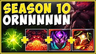 Gambar cover WHY ARE S10 TANKS ABLE TO BEAT ANY TOP LANER?? KING TANK ORNN IS 100% UNFAIR! - League of Legends