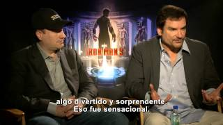 Iron Man 3: Entrevista Con Kevin Feige Y Shane Black -- Latinoamérica