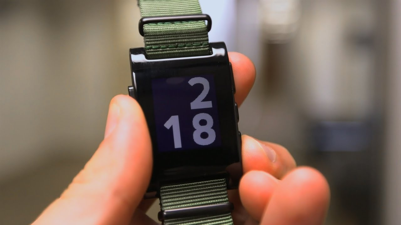 Rettinger's Riffs: Pebble Smartwatch